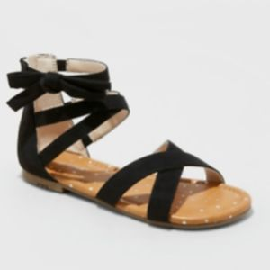 NWT Cat and Jack Rayna Microsuede Gladiator Sandal